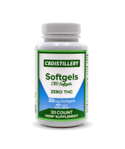 CBDistillery CBD Softgels Without THC