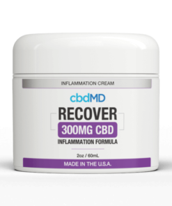 cbdMD Recover Topical Inflammation Cream Sample