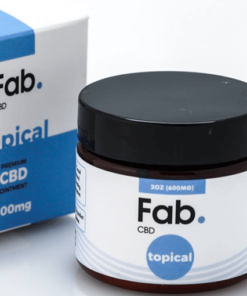 Fab CBD Pain Relief Cream Topical