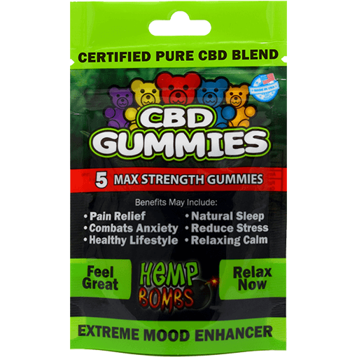 Hemp Bombs Gummies Sample