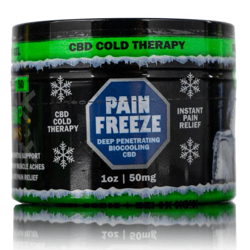 Hemp Bombs CBD Pain Freeze Topical Sample