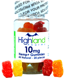 Highland Pharms CBD Gummies 10mg