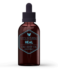 Kat's Naturals Heal CBD Oil Without THC Sample