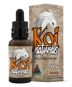 Koi Naturals CBD Oil Drops Sample