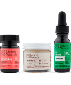 Lazarus Naturals High Potency Sample Pack