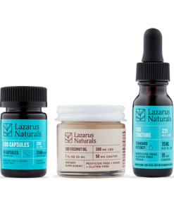 Lazarus Naturals Standard Potency Sample Pack