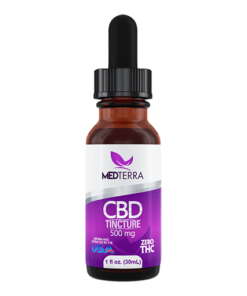 Medterra CBD Oil Drops Sample