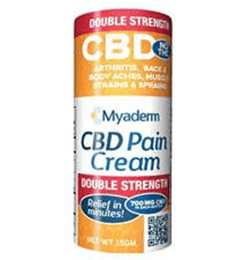 Myaderm Double Strength CBD Pain Cream