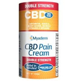 Myaderm Double Strength CBD Pain Cream 50 Grams