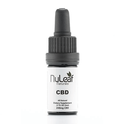 NuLeaf Naturals CBD Oil Sample 240mg